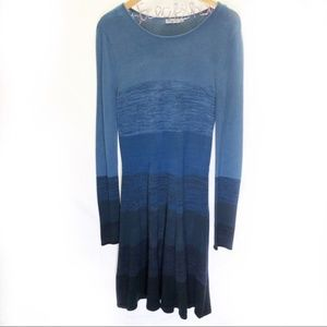 Eliza J Ombre Blue Dress